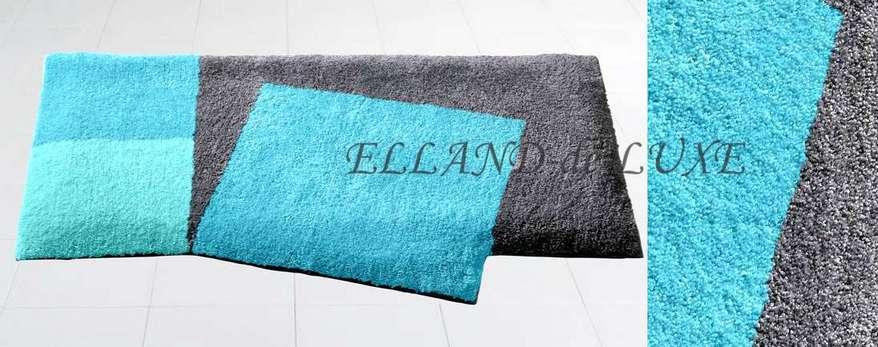 1 st badematte von grund 80 x 150 t rkis grau badteppich vorleger neu ebay. Black Bedroom Furniture Sets. Home Design Ideas
