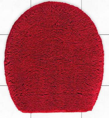 1 st wc deckelbezug rot normgr e deckel bezug neu ebay. Black Bedroom Furniture Sets. Home Design Ideas