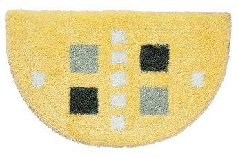 Duschvorleger Badematte Teppich 50x80 Gelb Grau Neu Ebay