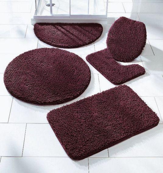 1 st badematte badmatte wc vorleger vino lial badteppich ohne ausschnitt neu ebay. Black Bedroom Furniture Sets. Home Design Ideas