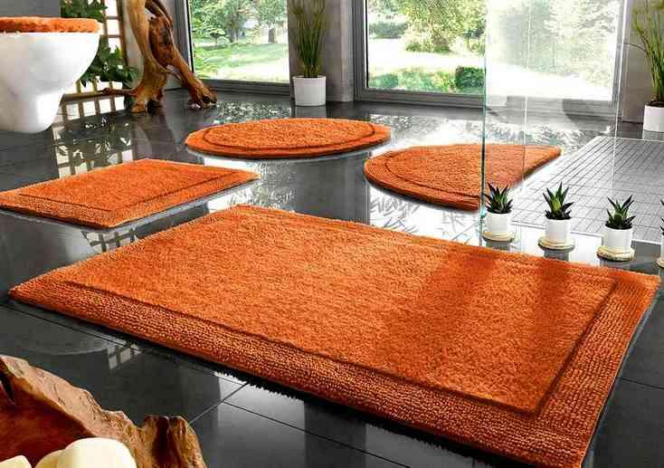 1 st badematte 80 x 150 terra terracotta baumwolle bio. Black Bedroom Furniture Sets. Home Design Ideas