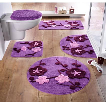 Badematte badteppich 80 x 150 flieder beere matte neu ebay - Tappeti x bagno ...