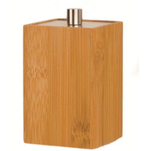 bamboo haartrocknerhalter f nhalter zeitschrifthalter papierkorb ohne bohren neu ebay. Black Bedroom Furniture Sets. Home Design Ideas