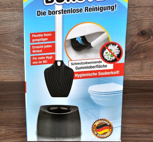 wc garnitur schwarz wei toilettenb rste b rstengarnitur von tv werbung neu ebay. Black Bedroom Furniture Sets. Home Design Ideas