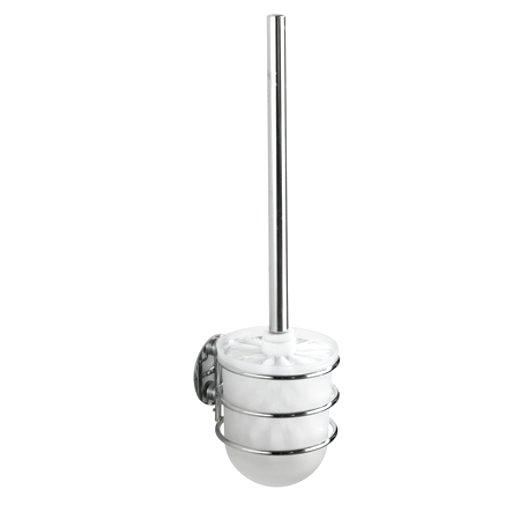 Turbo loc serie chrom wenko eckablage wc garnitur - Wc burste wandmontage ...