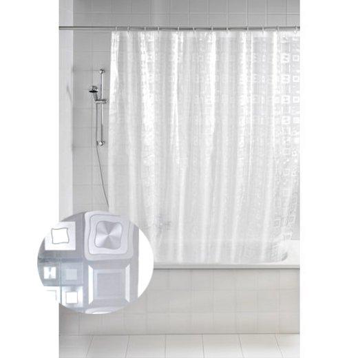 duschvorhang by wenko 180 x 200 mit ringen wasserabweisend. Black Bedroom Furniture Sets. Home Design Ideas