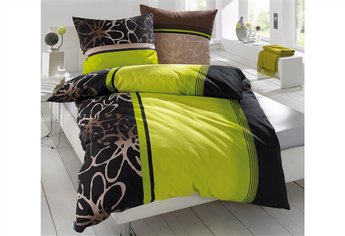 Bettwasche 155x220 Schwarz ~ Bettwäsche grün schwarz möbelideen