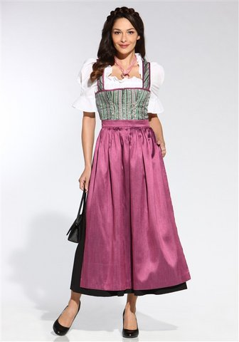 hammerschmid dirndl sch rze lang tracht beere neu ebay. Black Bedroom Furniture Sets. Home Design Ideas