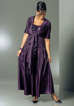 mim abendkleid taftkleid damen kleid gr 52 104l. Black Bedroom Furniture Sets. Home Design Ideas