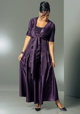 mim abendkleid taftkleid damen kleid gr 52 104l aubergine lila neu ebay. Black Bedroom Furniture Sets. Home Design Ideas