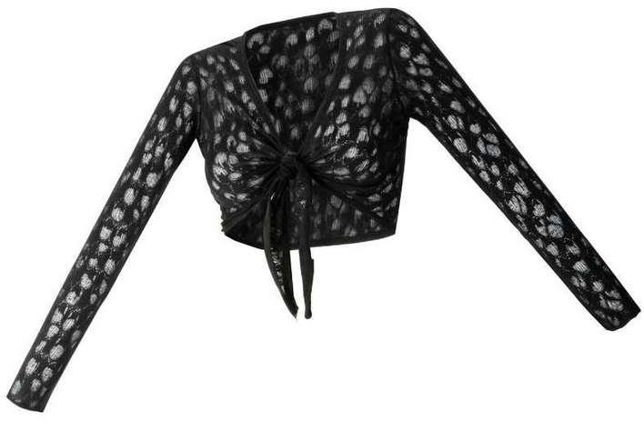 langarm abend bolero 32 34 schwarz damen kurz jacke. Black Bedroom Furniture Sets. Home Design Ideas