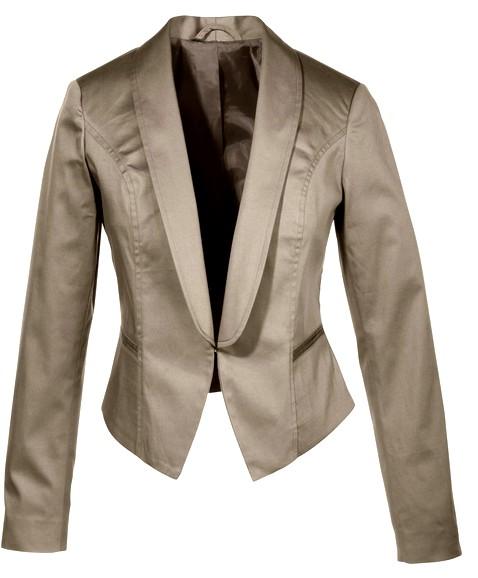 1 tlg blazer kost m gr 52 taupe braun kurz festlich jacke. Black Bedroom Furniture Sets. Home Design Ideas