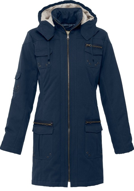neu damen sportalm parka winterjacke ski jacke fell daunen kapuze mantel gr 40 ebay. Black Bedroom Furniture Sets. Home Design Ideas