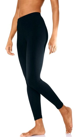 leggings schwarz damen