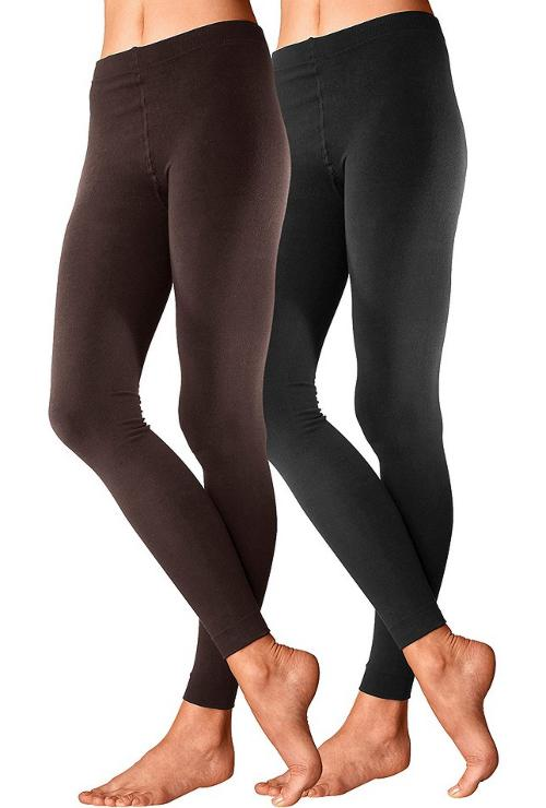 2 st thermo leggings by lavana damen gr m 40 42 schwarz. Black Bedroom Furniture Sets. Home Design Ideas