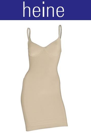 mieder kleid von heine bodyformer gr 40 beige bauchweg. Black Bedroom Furniture Sets. Home Design Ideas