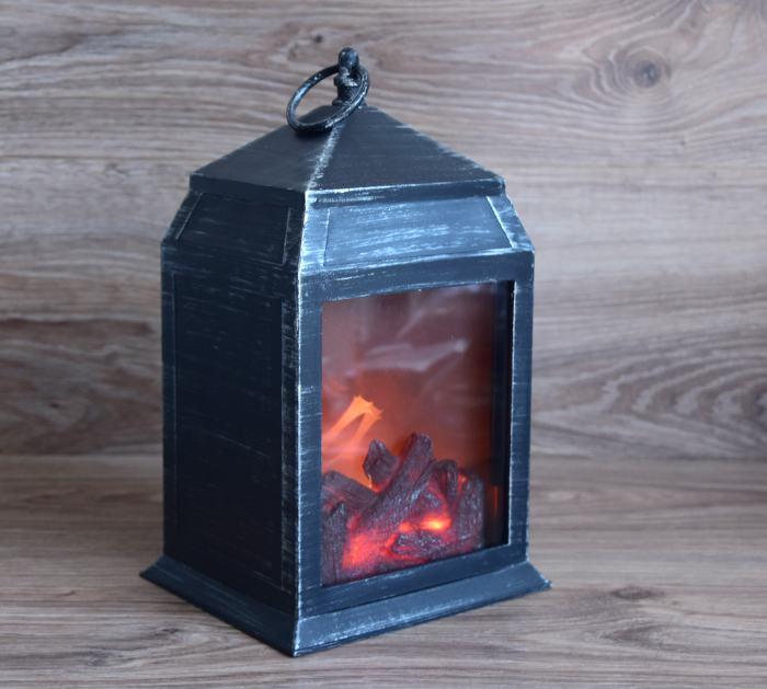 2x led laterne flammen effekt tisch kamin optik von easymaxx weihnachtsdeko ebay. Black Bedroom Furniture Sets. Home Design Ideas