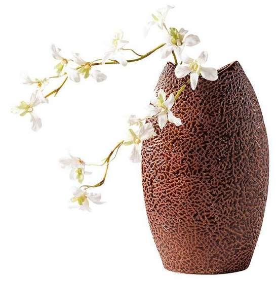 Dekoration Braun | Möbelideen Deko Wohnzimmer Vasen