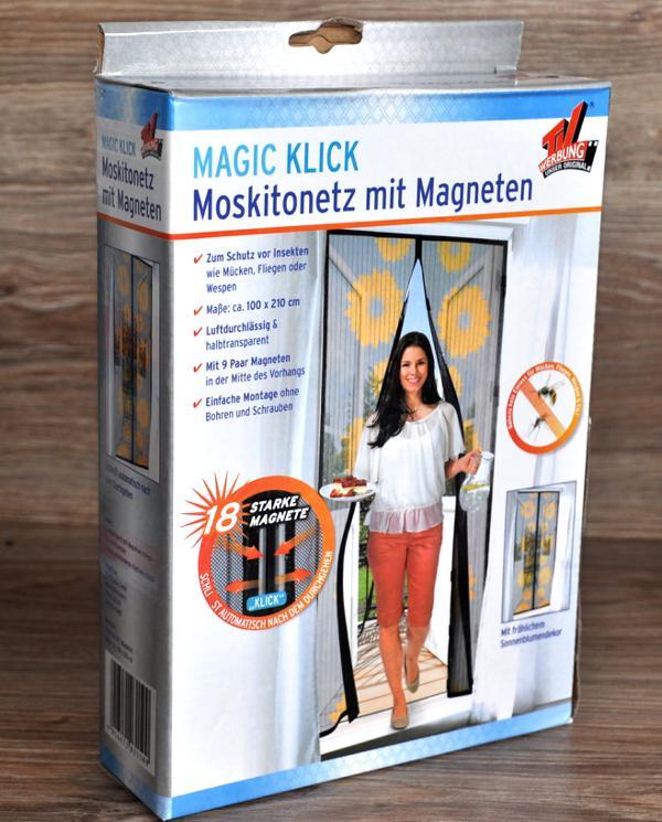 MOSKITONETZ-KLICK-MAGNETVERSCHLUSS-von-MAGIC-KLICK-INSEKTEN-FLIEGEN-SCHUTZ