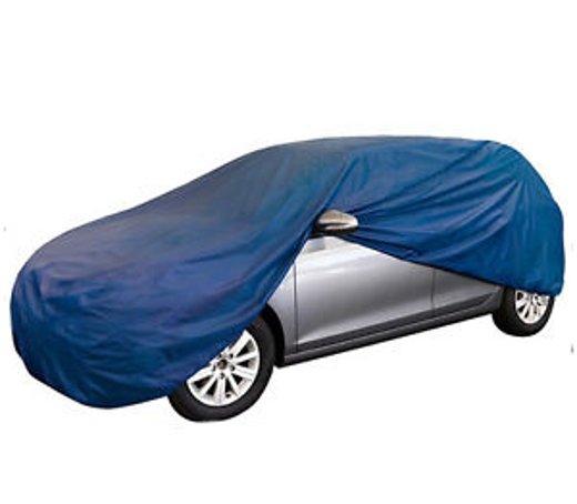 auto vollgarage blau gr m l xl atmungsaktiv garage abdeckung abdeckplane neu ebay. Black Bedroom Furniture Sets. Home Design Ideas