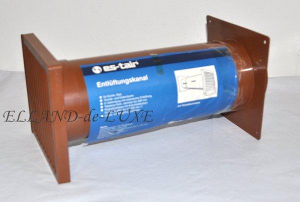 Deflettore condotto di sfiato canale piatto umlenken arco - Cattivo odore bagno tubo di sfiato ...