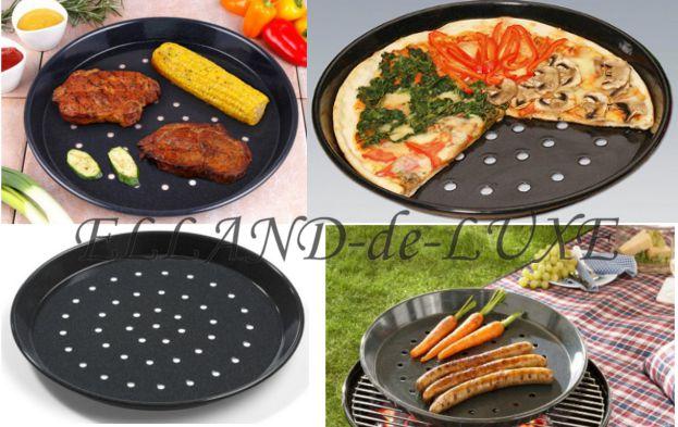 1 st grillschale grill schale teller pfanne pizzablech. Black Bedroom Furniture Sets. Home Design Ideas