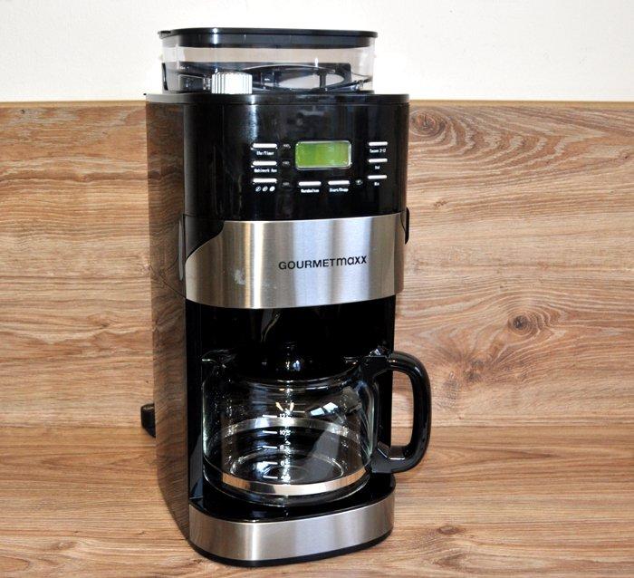 kaffeemaschine mahlwerk 1050w schwarz by gourmetmaxx neu ebay. Black Bedroom Furniture Sets. Home Design Ideas