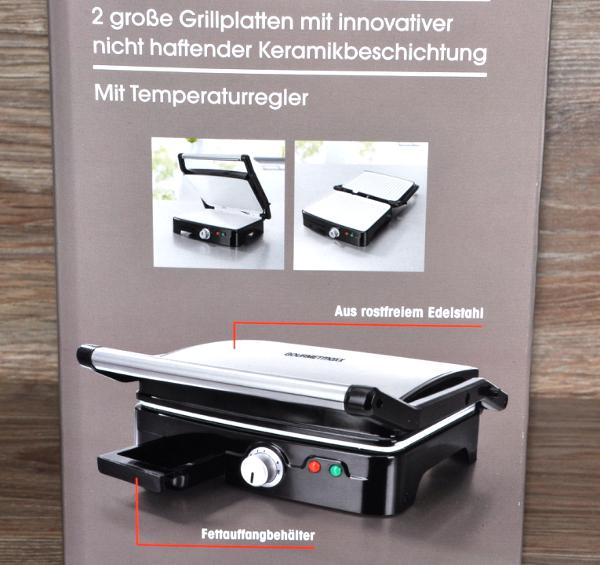 turbo grill by gourmetmaxx keramik plus 1800 w f r fleisch fisch tischgrill neu ebay. Black Bedroom Furniture Sets. Home Design Ideas