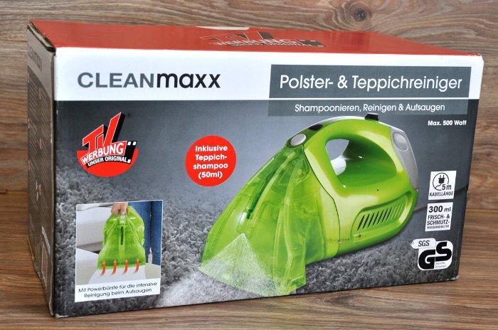 kleinstaubsauger handstaubsauger beutellos nass waschsauger von cleanmaxx ebay. Black Bedroom Furniture Sets. Home Design Ideas