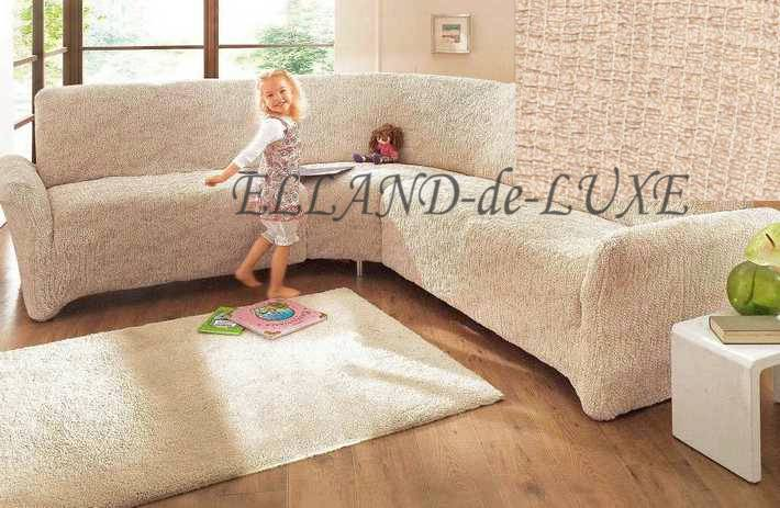 ecksofa husse beige stretchhusse sofahusse husse stretch sofa bezug neu ebay. Black Bedroom Furniture Sets. Home Design Ideas