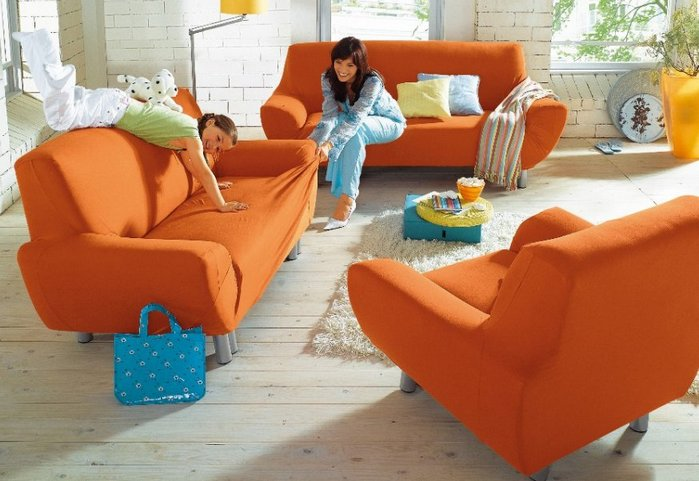 Hussen fur sofas und sessel alle bilder von wohndesign inspiration Sofa hussen stretch