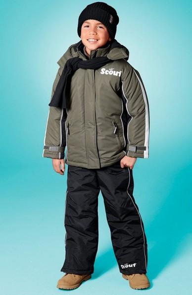scout winterjacke jacke kinder jungen khaki 128 neu ebay. Black Bedroom Furniture Sets. Home Design Ideas