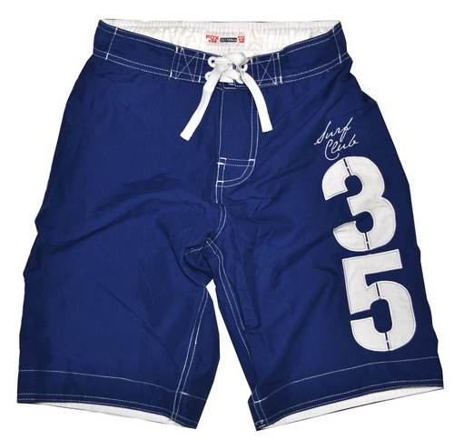 bermudas von fox gr 128 blau wei badehose shorts hose. Black Bedroom Furniture Sets. Home Design Ideas