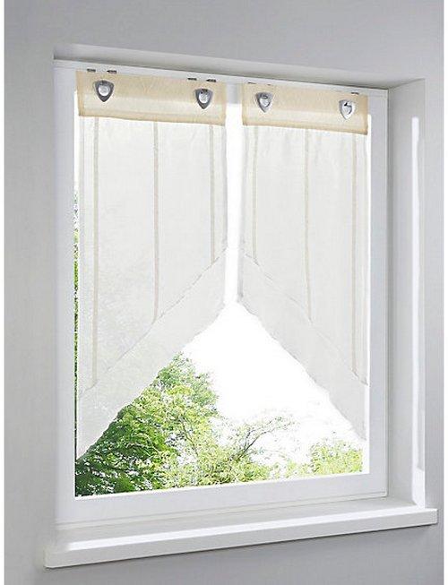 2 st raffrollo easyfix 40 x 110 weiss vorhang streifen. Black Bedroom Furniture Sets. Home Design Ideas
