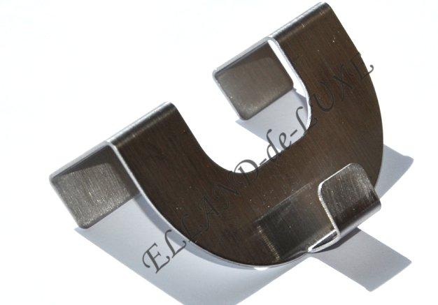2 x metall haken f r raffrollo rollo zubeh r easyfix plissee fensterhaken neu ebay. Black Bedroom Furniture Sets. Home Design Ideas