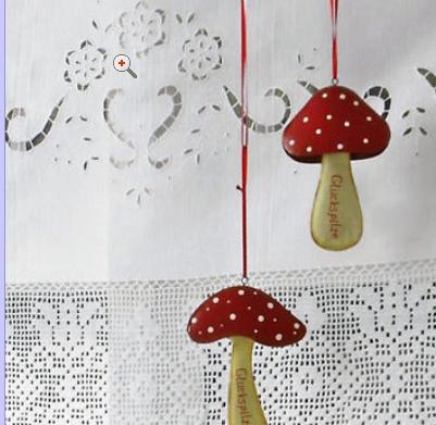 1 st raff gardine rollo 60 x 140 wei h kel spitze richelieu landhaus stil neu ebay. Black Bedroom Furniture Sets. Home Design Ideas
