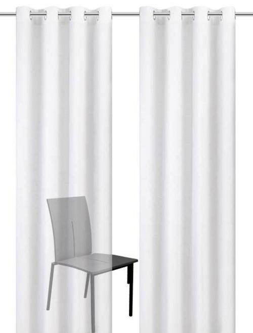 gardinen deko gardinen weiss transparent sen gardinen. Black Bedroom Furniture Sets. Home Design Ideas