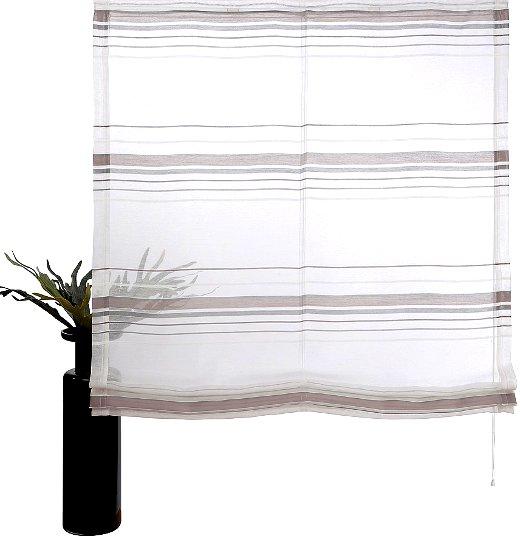 1 st raffrollo 60 80 100 wei grau transparent rollo vorhang flauschband neu ebay. Black Bedroom Furniture Sets. Home Design Ideas