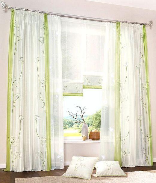 2x gardine voile 145 x 145 wei uni schal transparent vorhang kr uselband neu ebay. Black Bedroom Furniture Sets. Home Design Ideas