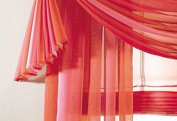 freihanddeko querbehang rot terra 140 x 600 neu. Black Bedroom Furniture Sets. Home Design Ideas