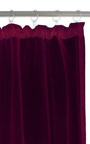 2 st gardine 140 x 145 beere lila schal blickdicht vorhang. Black Bedroom Furniture Sets. Home Design Ideas