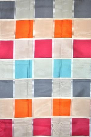 2 st gardine vorhang voile 145 x 245 creme bunt pink blau for Gardinen pink