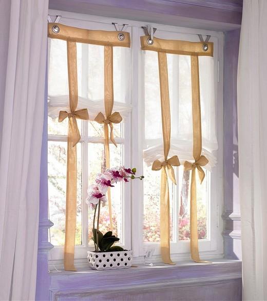 1 st raffrollo raff rollo 80 x 140 wei sand sen haken blickdicht neu ebay. Black Bedroom Furniture Sets. Home Design Ideas
