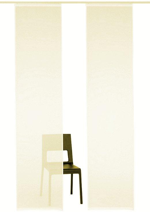 schiebegardine schiebevorhang fl chenvorhang flausch. Black Bedroom Furniture Sets. Home Design Ideas