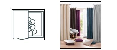 1 st dekoschal 140 x 225 beige taupe lochmuster blickdicht gardine sen neu ebay. Black Bedroom Furniture Sets. Home Design Ideas
