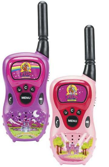 walkie talkie set von dickie fille pferde spielzeug kinder neu ebay. Black Bedroom Furniture Sets. Home Design Ideas