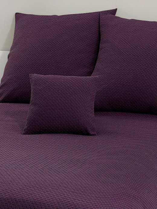 1 st tagesdecke 250 x 280 aubergine lila Überwurf wohndecke, Hause deko