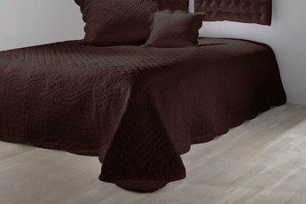 tagesdecke von heine 210 x 240 braun schoko steppdecke. Black Bedroom Furniture Sets. Home Design Ideas