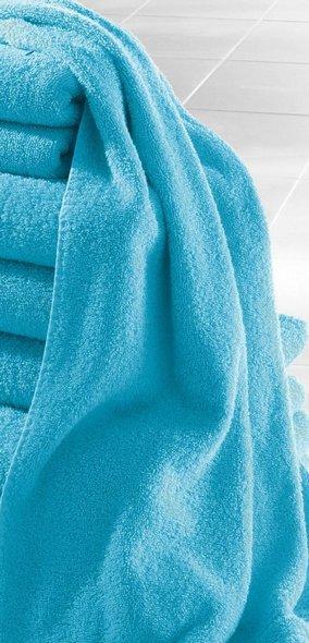 7 tlg set handtuch 70x140 50x100 t rkis blau badetuch. Black Bedroom Furniture Sets. Home Design Ideas